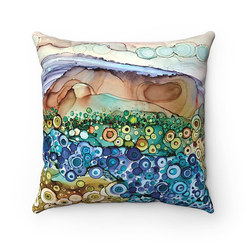 Dreamscape Pillow - Spun Polyester