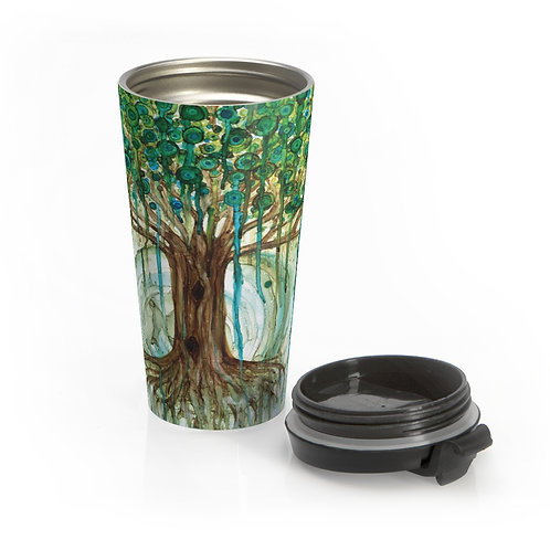 Lifetree Stainless Steel Travel Mug