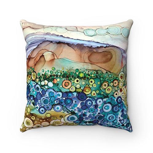 Dreamland Faux Suede Square Pillow Case