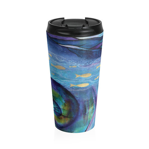 Poseidon's Muse Stainless Steel Travel Mug