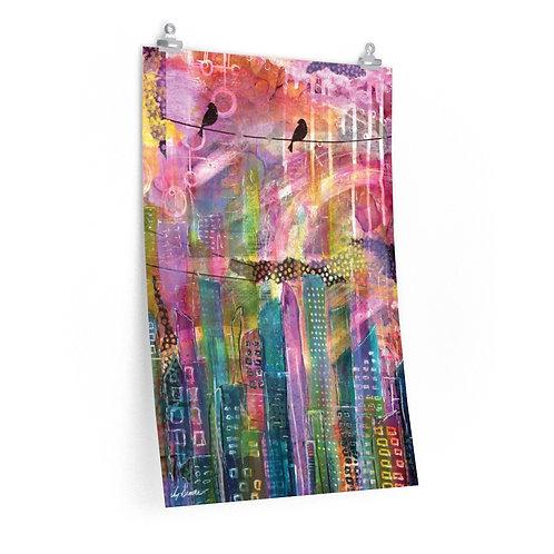 Urban City Premium Matte Print