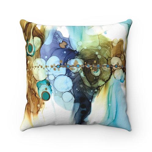 Above Below Pillow - Spun Polyester