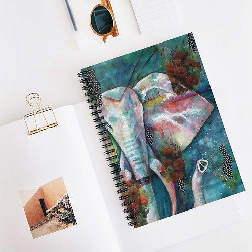 Elefante Spiral Notebook - Ruled Line