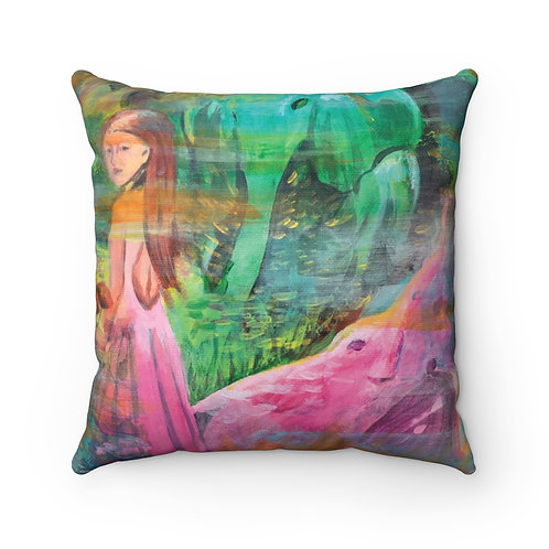 Julan Pillow - Spun Polyester