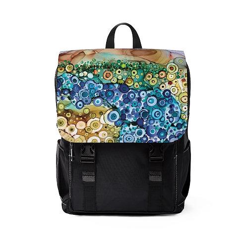 Dreamscape Casual Shoulder Backpack - Unisex