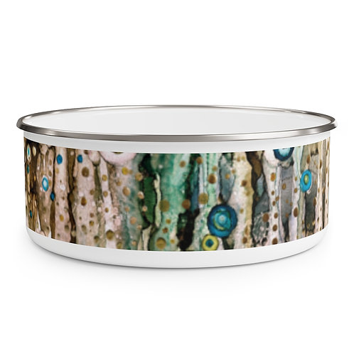 Enchanted Enamel Bowl