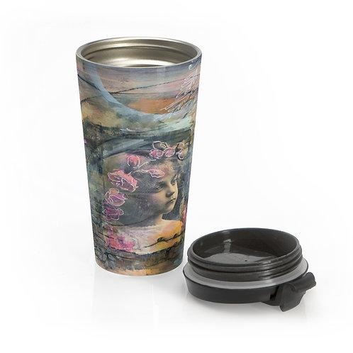 Vintaged Stainless Steel Travel Mug