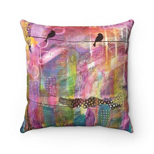 Urban City Pillow - Spun Polyester