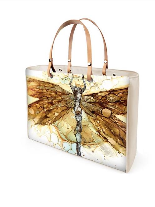 Fall Dragonfly Handbag