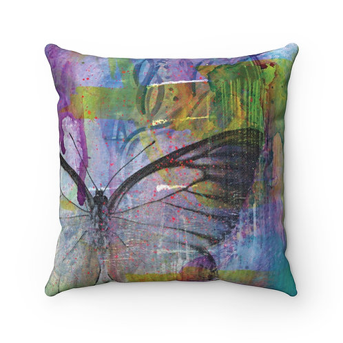 Urban Garden Pillow - Spun Polyester