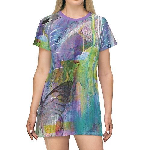 Urban Garden T-Shirt Dress