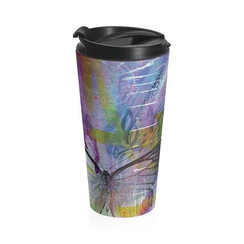 Urban Garden Stainless Steel Travel Mug