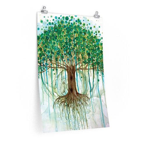 Lifetree Premium Matte Vertical Print