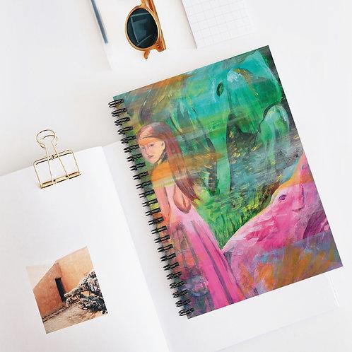 Julan Spiral Notebook - Ruled Line