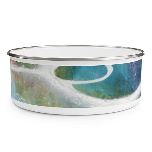 Meditation Enamel Bowl