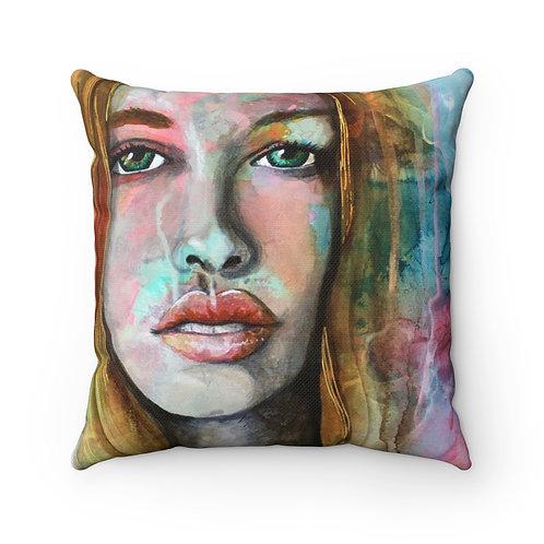 Gazed Pillow - Spun Polyester