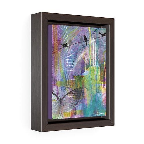 Urban Garden Framed Premium Gallery Wrap Canvas