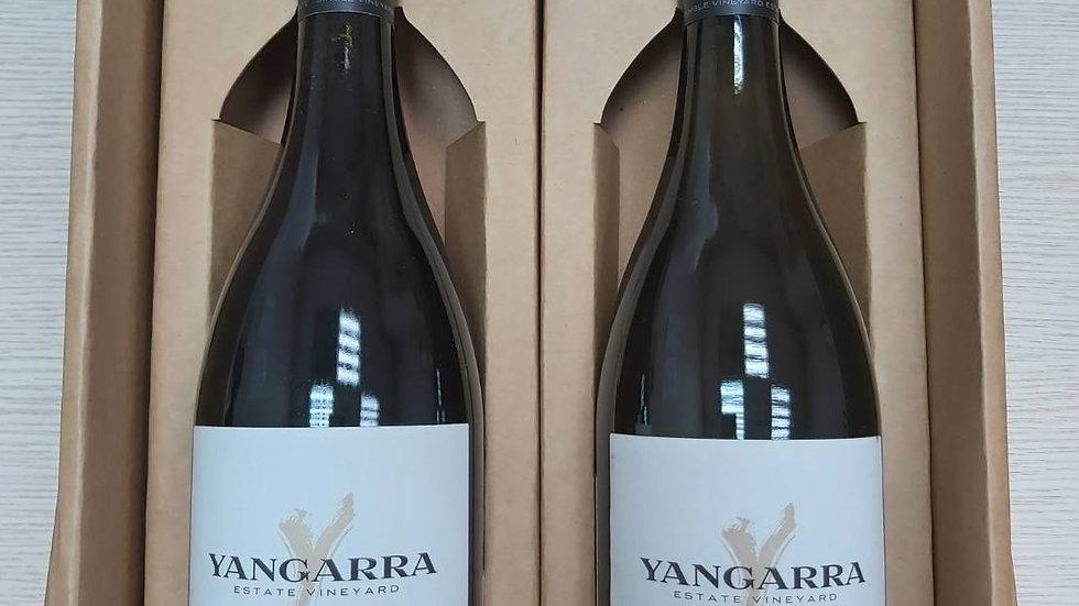 澳洲揚格拉酒廠紅白酒禮盒
