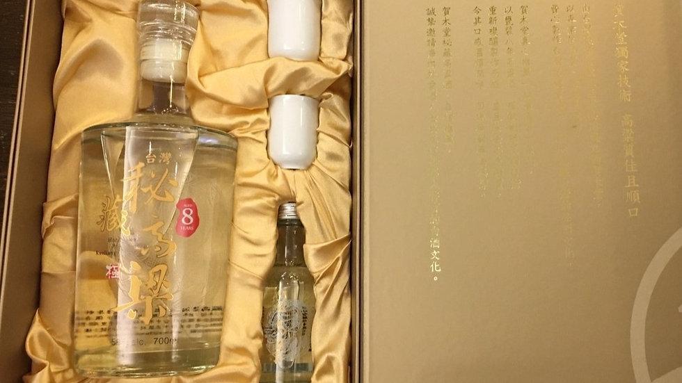 台灣秘藏高粱酒禮盒58度