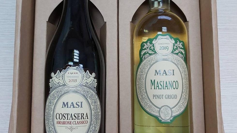 意大利瑪西酒廠紅白酒禮盒組