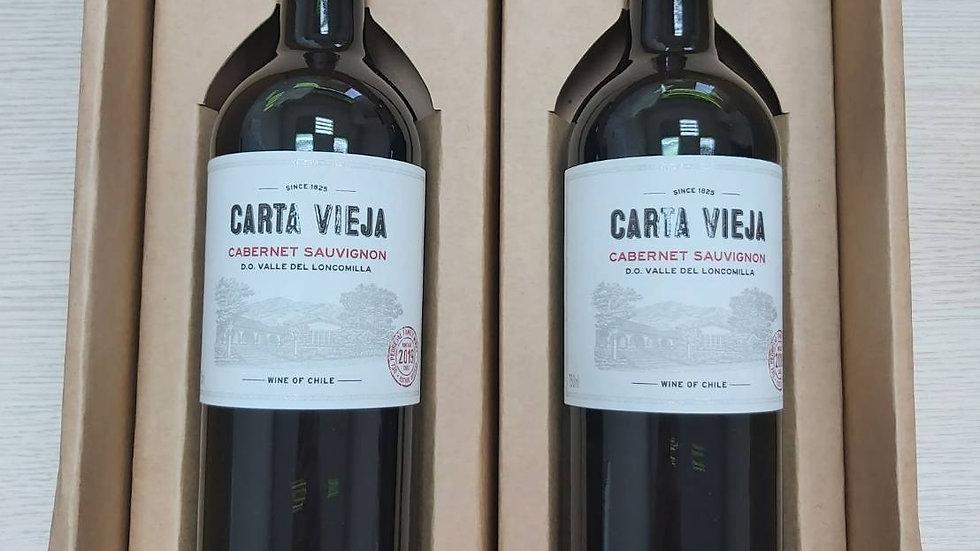 凱達酒莊精選雙瓶紅酒禮盒