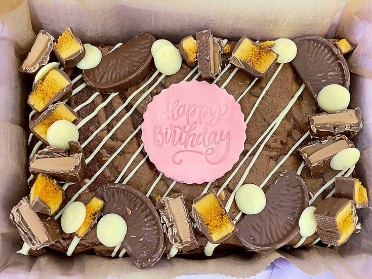 Occasion brownie slabs