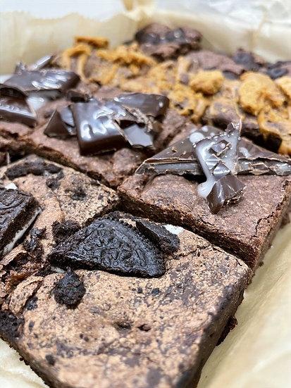 The vegan brownie box (12 brownies)