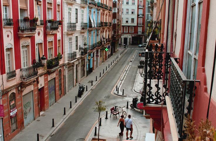 Ruzafa street
