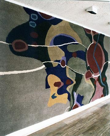 Wandkleed opgehangen in het Raadhuis.02b