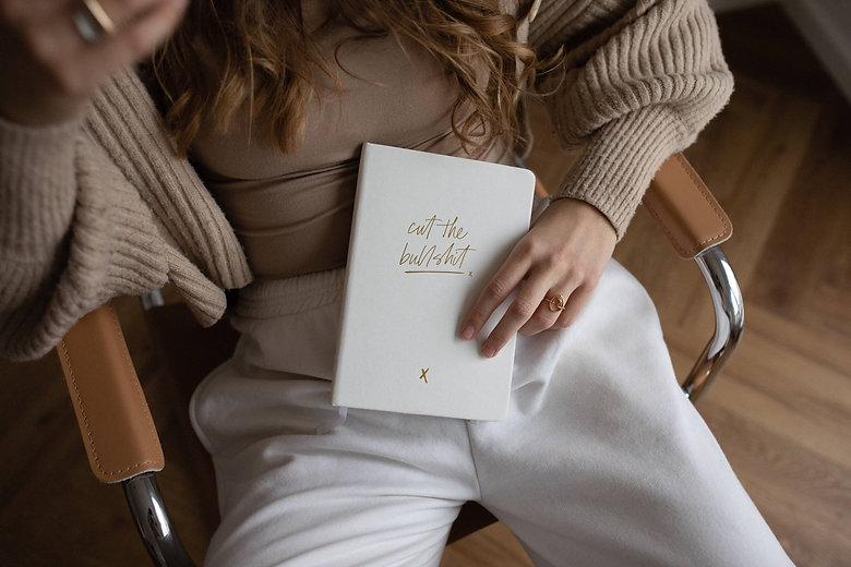 Real Passionates Notizbuch Cut the Bullshit Pocket Size Kollection 2021 notebook journal punktiert A6 und A5 szizzenbuch Taschenformat runde Ecken