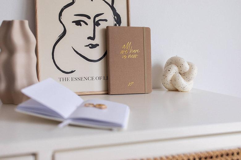 Real Passionates Notizbuch al we have is now Pocket Size Kollection 2021 notebook journal punktiert A6 und A5 szizzenbuch Taschenformat runde Ecken