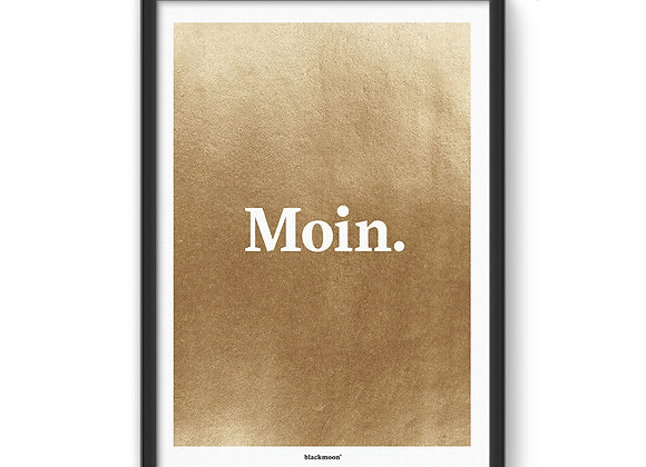 "Art Print ""Moin"""