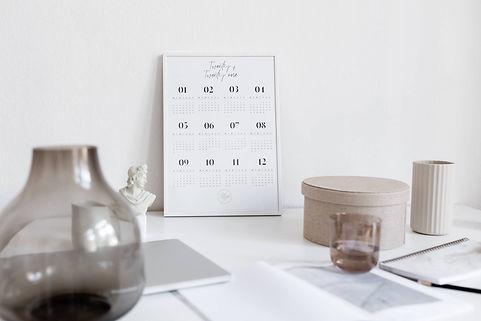 Art Print Calendar 2021 [A3, white]_Mood