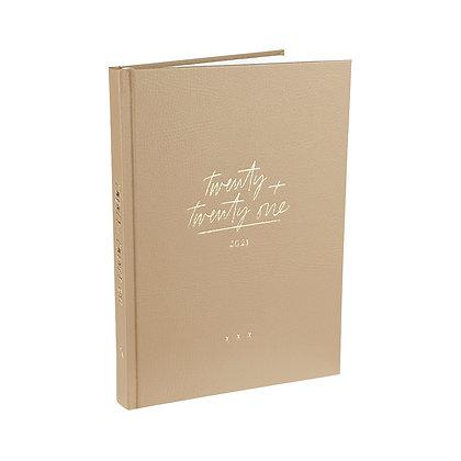 Diary Planner / Jahresplaner 2021 -  [A5, Coffee]