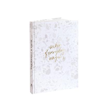 "Gratitude Journal ""Everyday Magic"" [A5, Terrazzo]"