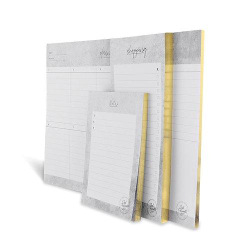 Luxury Notepad Set