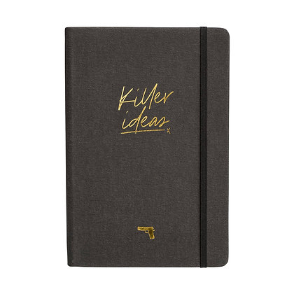 """Notebook """"Killer Ideas"""" [A5, Anthracite/Gold]"""