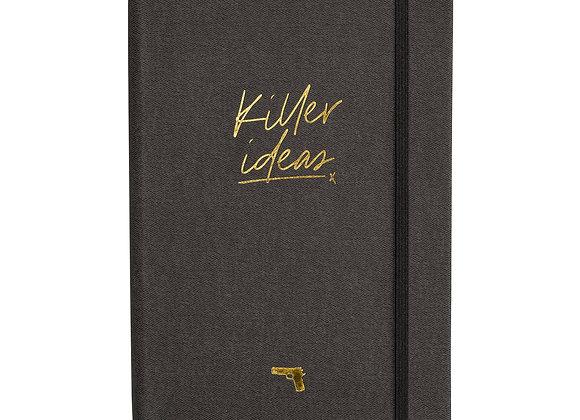 "Notizbuch / Notebook ""Killer Ideas"" [A5, Anthrazit]"