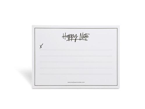 HAPPY + LOVE NOTE - [SET 2 Stück]