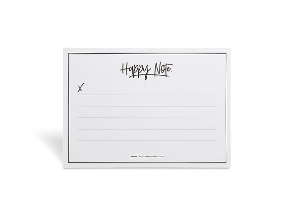 "Notepad ""Happy Notes"" [A6]"