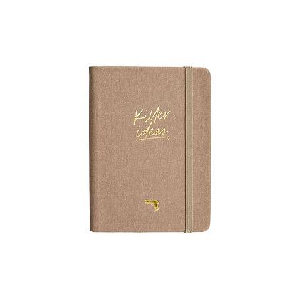 "Notizbuch / Notebook ""Killer Ideas"" [A6, Coffee]"