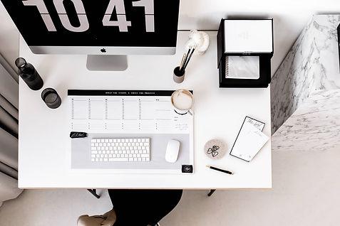 XL Design Schreibtischunterlage Schreibtisch Set Up