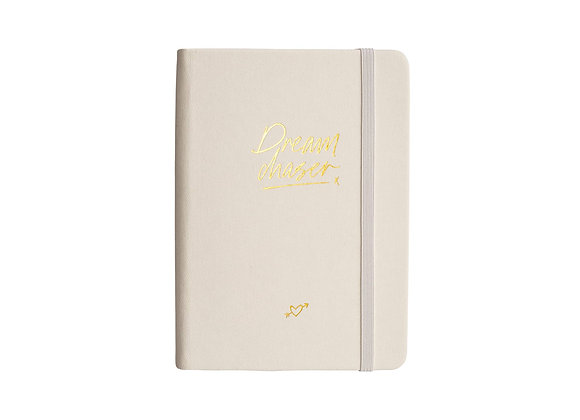 "Notizbuch / Notebook ""Dream Chaser"" [A6, Ivory]"