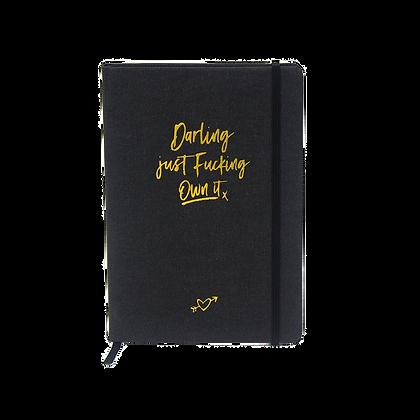 "Notizbuch ""Darling"" [A5, plano]"