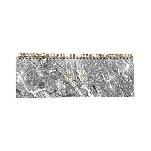 Desk Planner / Tischkalender 2020 - Grey
