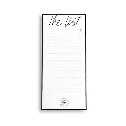 "Notepad | To-Do List ""Monochrome"""