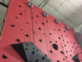 impact climbing custom panels with holds