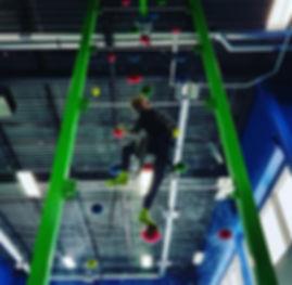 custom faceoff climbing tower