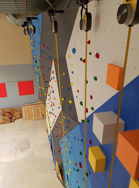 Community Centre Climbing Wall