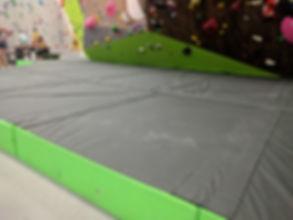 thick climbing floor mat